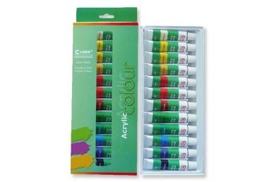 使用的方便性:丙烯画颜料可直接从管内挤出使用,以创造厚涂的效果